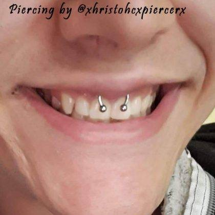 scrumper piercing by @xhristohcxpiercerx_