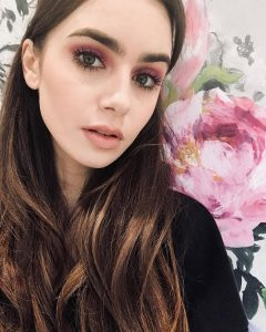 Lily Collins photocredit @lilyjcollins