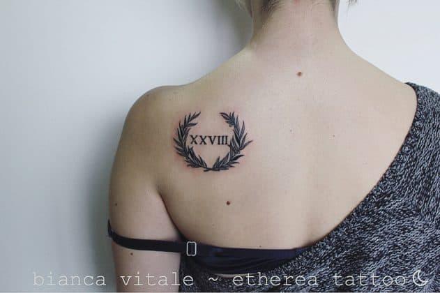 tatuaggi numeri romani