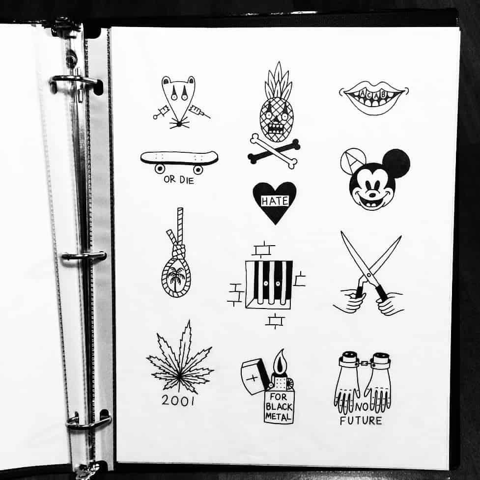 Come Trovare I Disegni Per I Tatuaggi