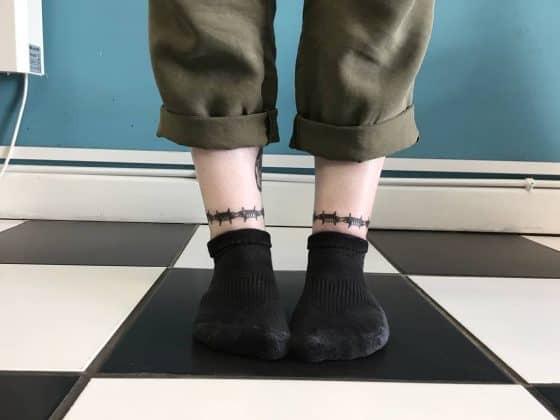 tatuaggi caviglia