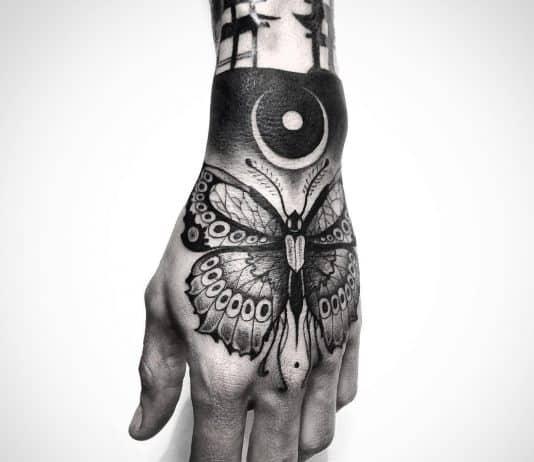 tatuaggi farfalle