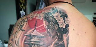 Tatuaggio Geisha
