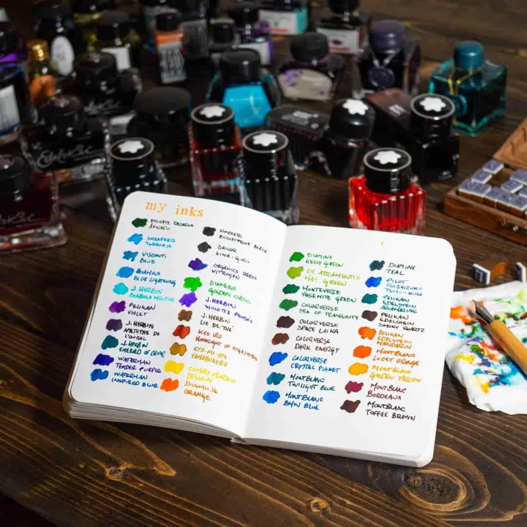 colori inchiostri tatuaggio