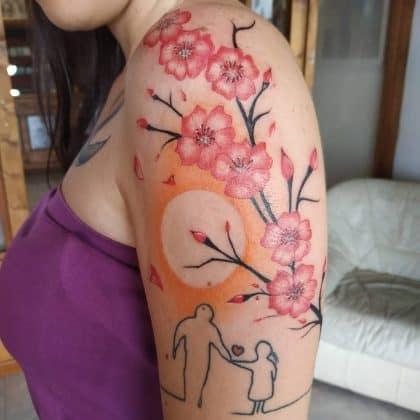 Tattoo memoria persona cara scomparsa