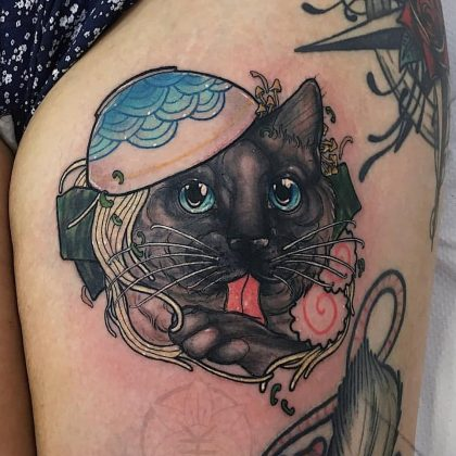 gatto-tattoo-by-@ladyredcat-presso-@mambotattoo