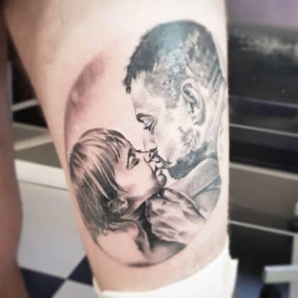 Tattoo padre figlio