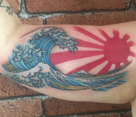 sole tattoo giapponese