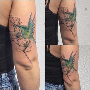 tattoo fiore di pesco by @avant_garde_ink
