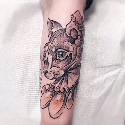 tattoo-gatto-by-@bonnie_tatouage