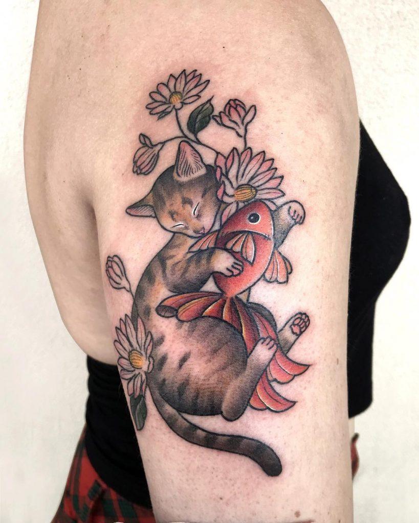 tattoo-gatto-by-@kiera_tatto