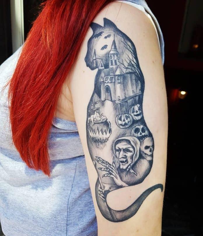tatuaggi strega