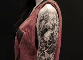 tatuaggio fenice