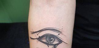 tatuaggio occhio horus