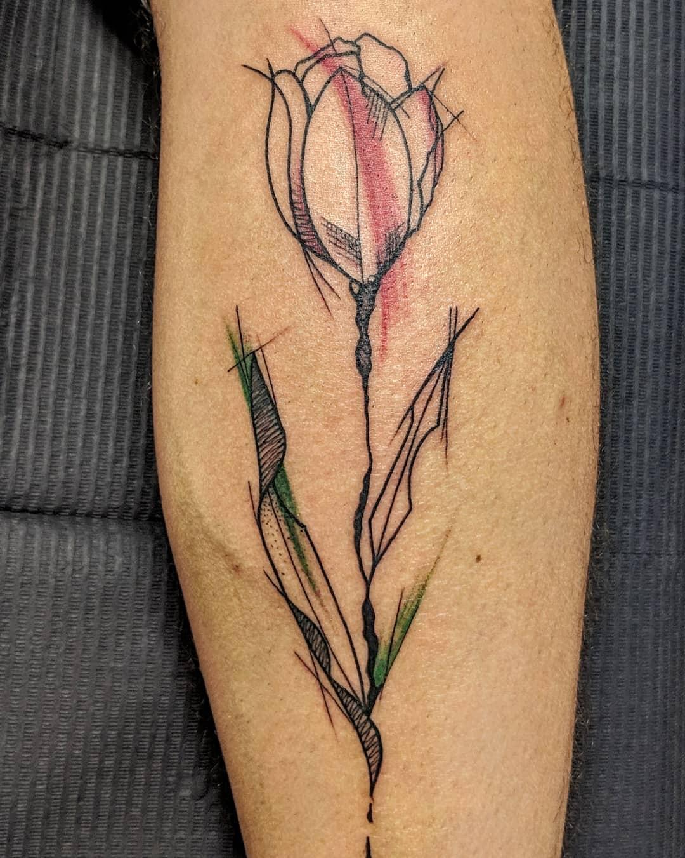 tulipano tattoo by @westarytattoo
