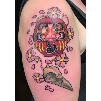 tattoo fiore di ciliegio