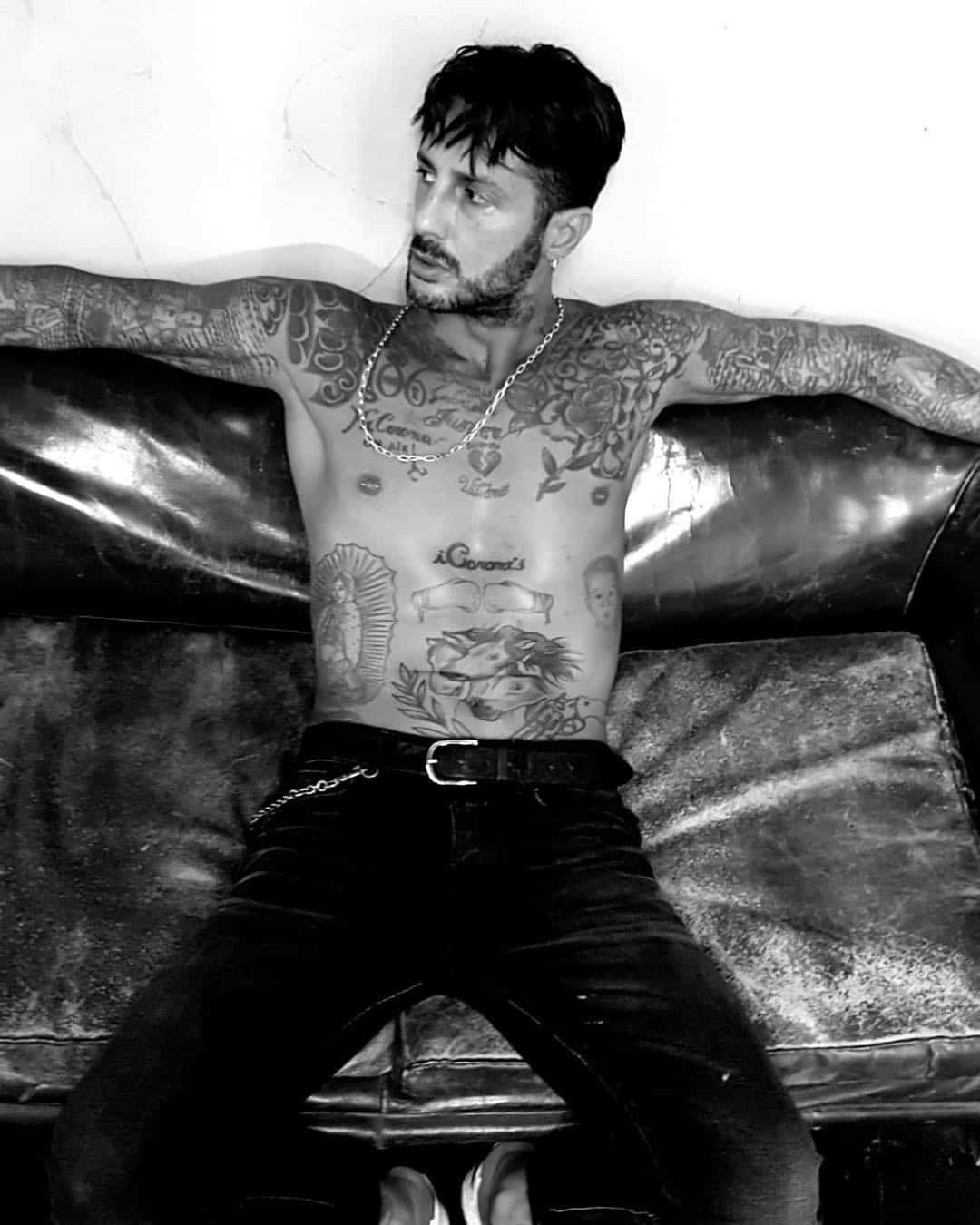 Corona tatuaggi photocredit @fabriziocoronareal