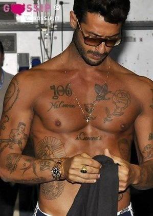 tatuaggi di fabrizio corona