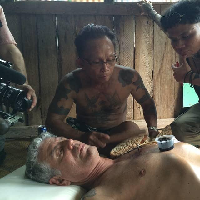 Tatuaggio nel Borneo