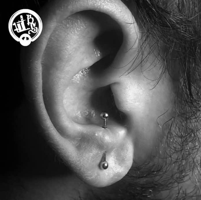 antitrago piercing