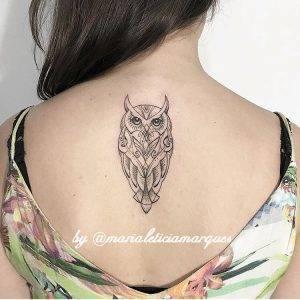 gufo tattoo by @marialeticiamarques