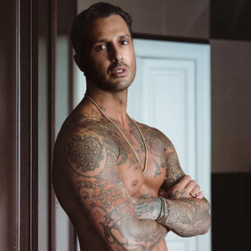 tattoo rimosso per Nina Moric photocredit @fabriziocoronareal