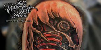 tatuaggi biomecanici