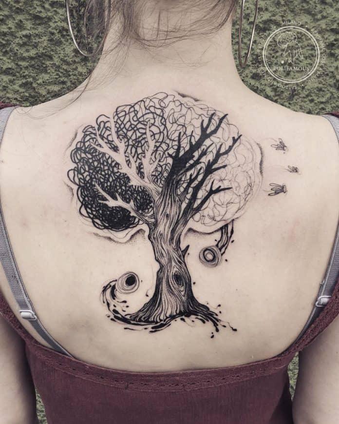 Tatuaggio albero immagini idee e significati for Albero della vita significato