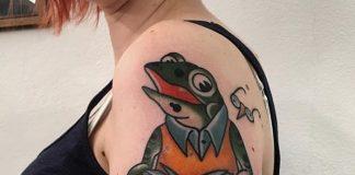 tatuaggio rana by @tatuaggidaclaudio