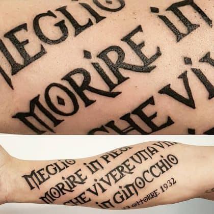 tatuaggi scritte celtiche