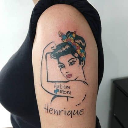 pin up tattoo