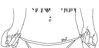 piercing ombelico doccia