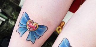 tatuaggio fiocco