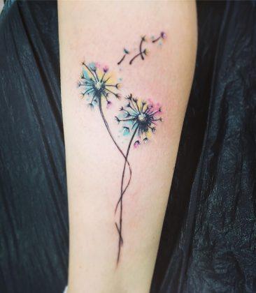 tatuaggio soffione by @klarastacova