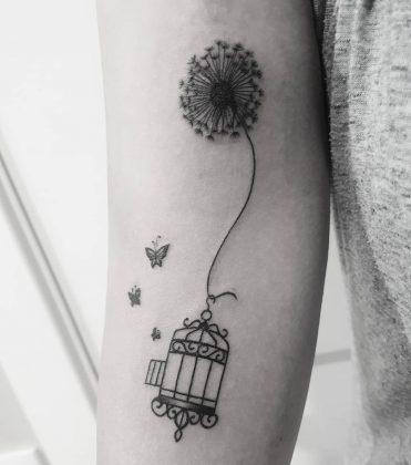 tatuaggio soffione liberta