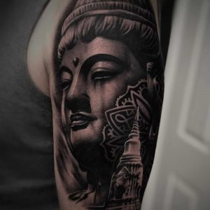 tatuaggi buddha by @tattoosbyren