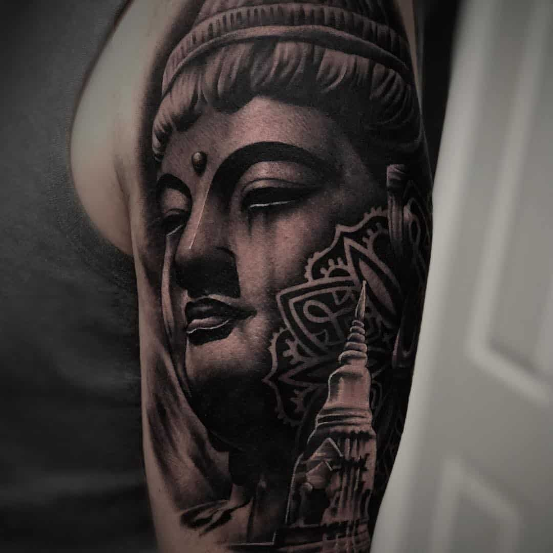 tatuaggi buddha by @tattoosbyren
