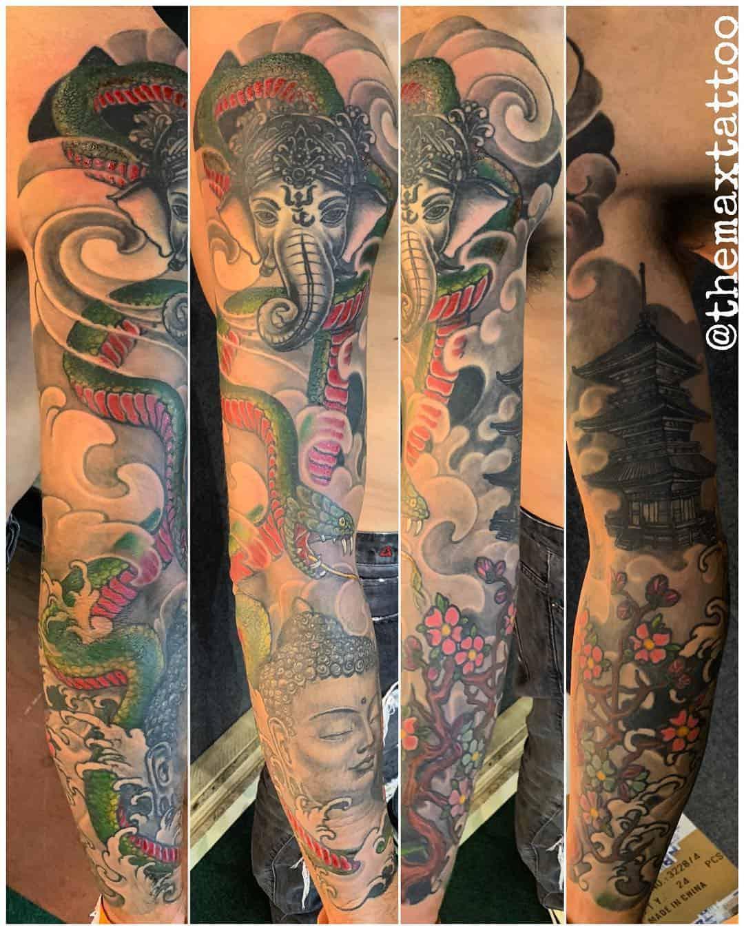 Tattoo by @themaxtattoo