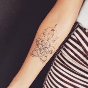 buddha tattoo braccio by @craftarttattoo