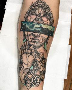 buddha tattoo by @diegoemmanuel_tattoo