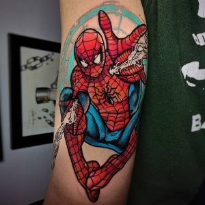 spider-man-tattoo-by-@carlospovartattoo