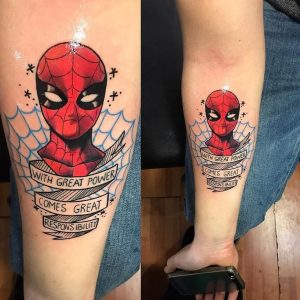 spider-man-tattoo-by-@ricardomarqueztattoo