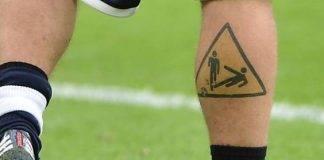 Tatuaggi Daniele de Rossi