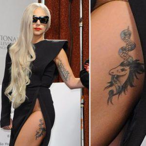 Lady-Gaga-unicorn-tattoo-photocredit-@tatuaggipiercing.com