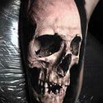 teschio tattoo