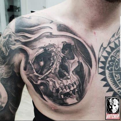 Tattoo teschio