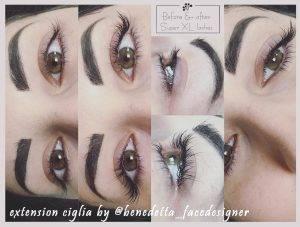 extension ciglia by @benedetta_facedesigner