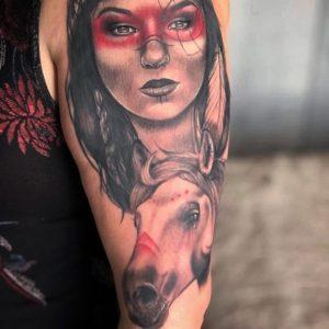 horse-tattoo-indiana-by-@leach_tattoos