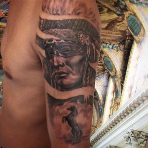 horse-tattoo-indiano-by-@tsarttattoo
