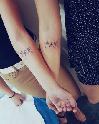 tattoo amicizia by @alyson_ink